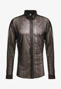 Twisted Tailor - CROSSER SHIRT - Shirt - black - 4