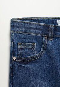 Mango - SKINNY - Jeans Skinny Fit - blu scuro - 2