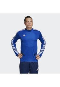 adidas Performance - TIRO 19 TRAINING TOP - Sweatshirts - blue - 0