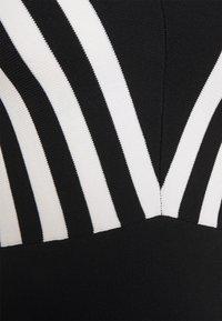 Morgan - MUST - Svetr - noir/off white - 2