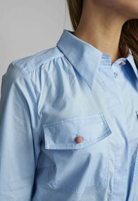 Nümph - NUDAIJA DRESS - Shirt dress - airy blue - 2