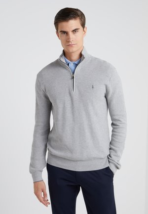 PIMA TEXTURE - Strickpullover - andover heather