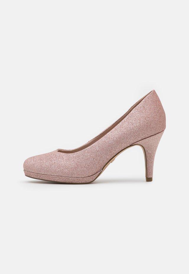 Klassiske pumps - rose glam