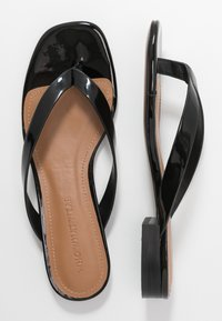 Who What Wear - CALI - Sandalias de dedo - black - 3