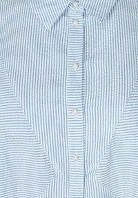 Zizzi - Button-down blouse - skyway stripe - 4