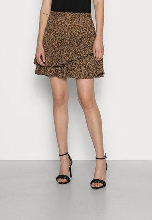 ADELLYN - Mini skirt - brown