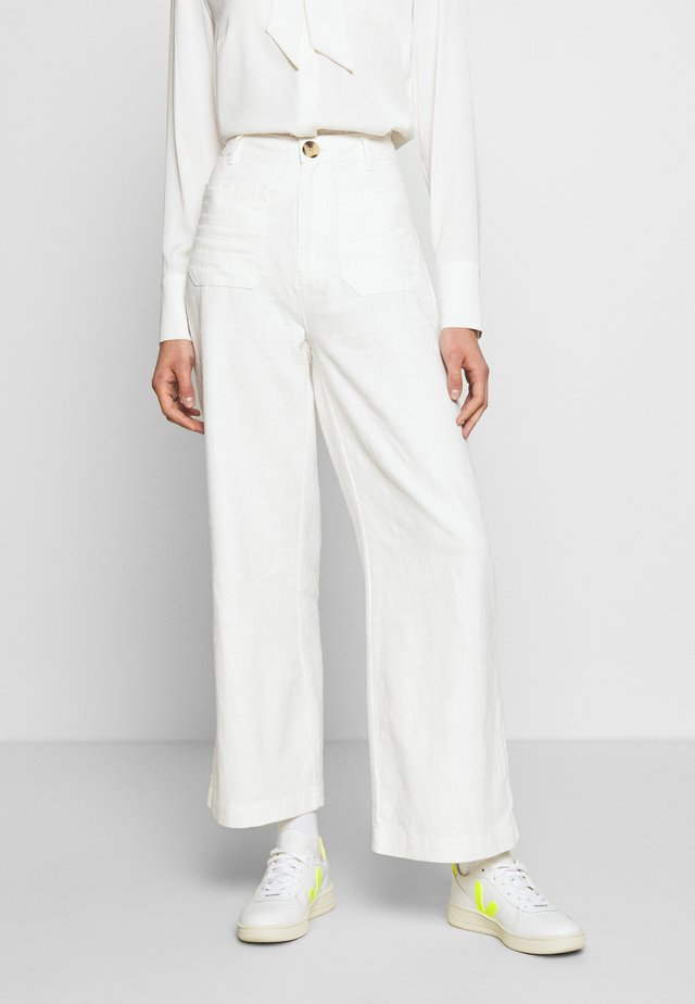 SAILOR PANT - Bukser - vintage white
