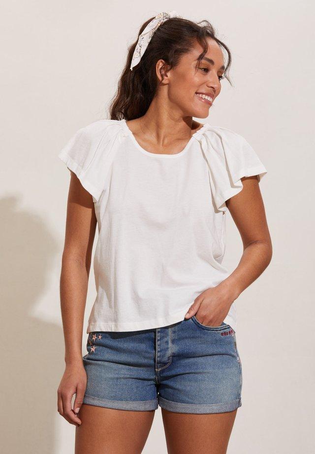 T-shirts basic - light chalk