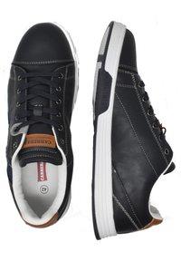 Carrera Footwear - UNDER MIX  - Trainers - deep blue-cuoio - 3