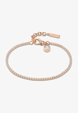 Bracelet - rose gold colored