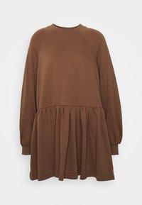 Missguided Petite - SMOCK DRESS - Sukienka letnia - tan - 0