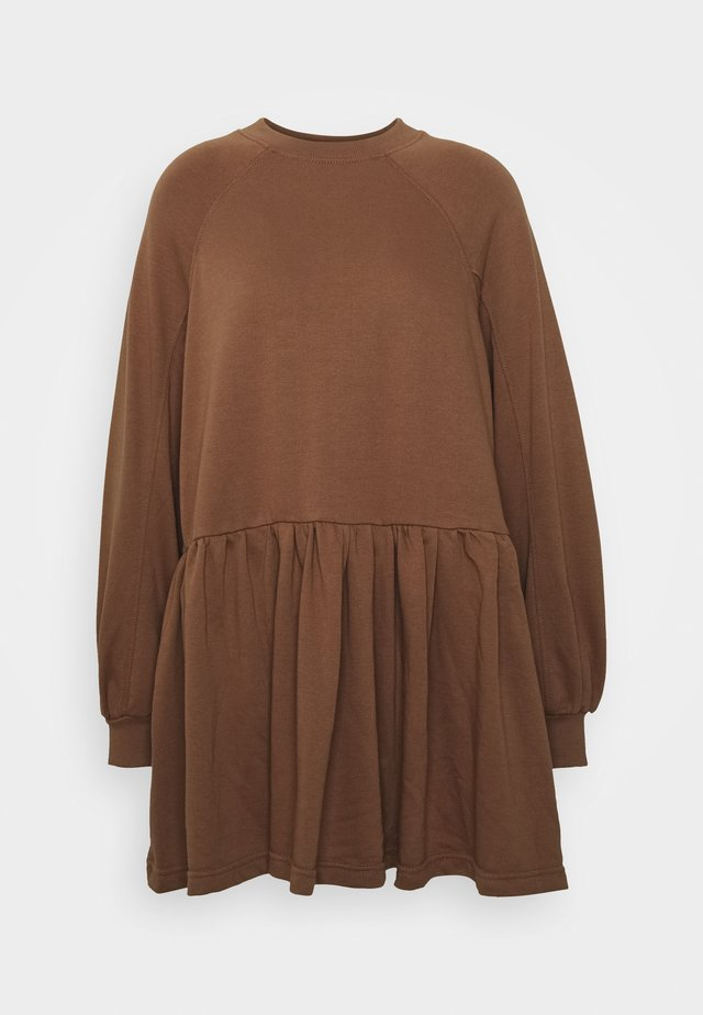 SMOCK DRESS - Day dress - tan