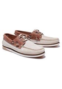 Timberland - ATLANTIS BREAK L/F BOAT - Boat shoes - humus - 1