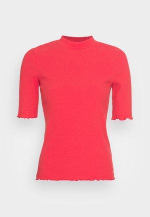 SLFANNA CREW NECK TEE - Basic T-shirt - true red
