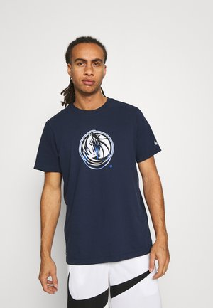 NBA DALLAS MAVERICKS LOGO TEE - Club wear - college navy