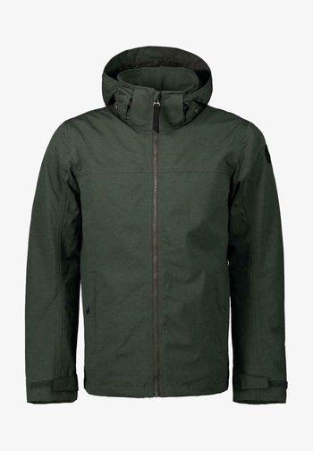 ABBOT - Outdoor jacket - dunkelgrün