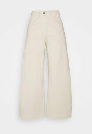 STAY PANTS - Trousers - stone garment dye
