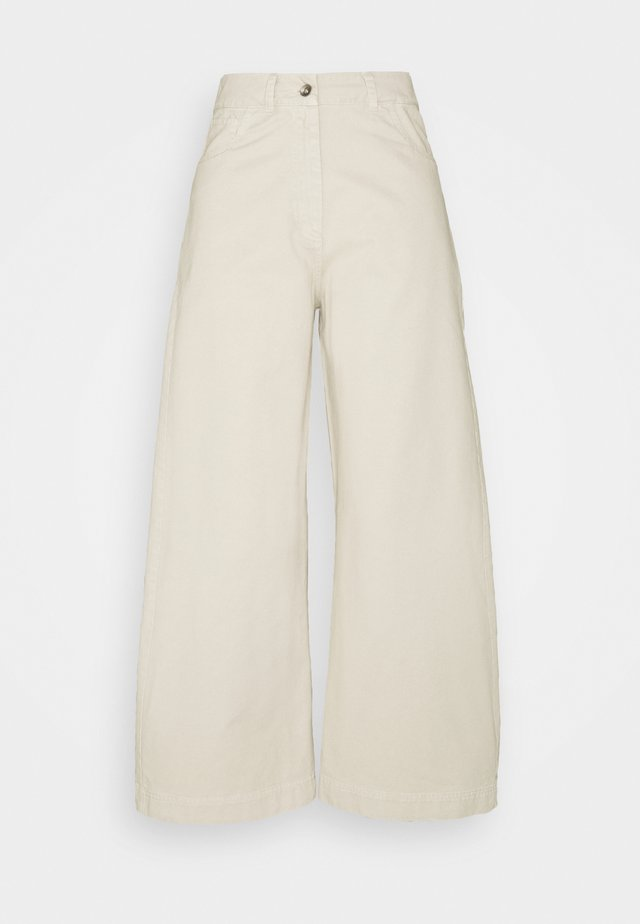 STAY PANTS - Broek - stone garment dye