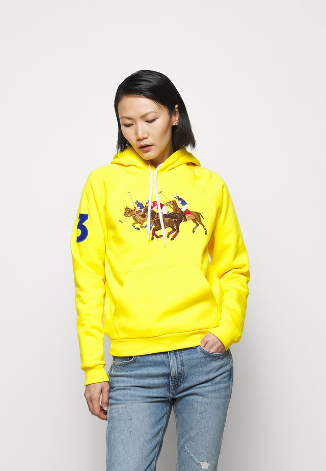 SEASONAL - Kapuzenpullover - university yellow