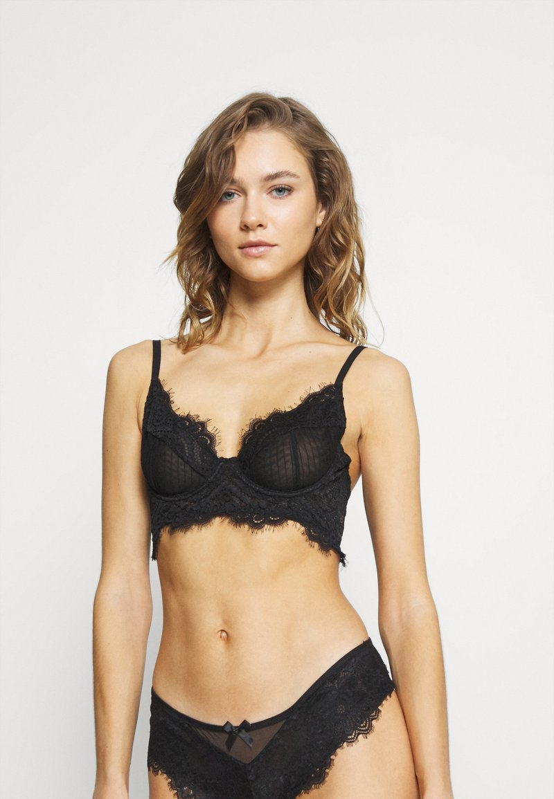 Nly by Nelly - TRUSTED LOVE BRA - Underwired bra - black