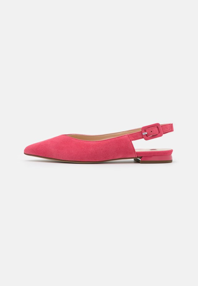 BELLA - Baleríny s otevřenou patou - pink