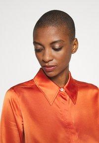 Diane von Furstenberg - ZELLO - Shirt dress - burnt orange - 4