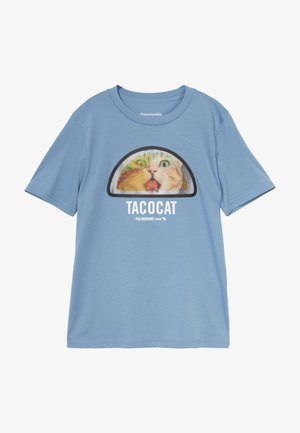 INTERACTIVE  - Print T-shirt - blue