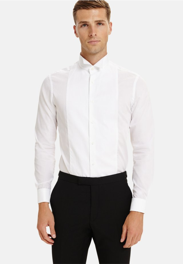 MARCELLE FITTED DOUBLE CUFF - Shirt - white