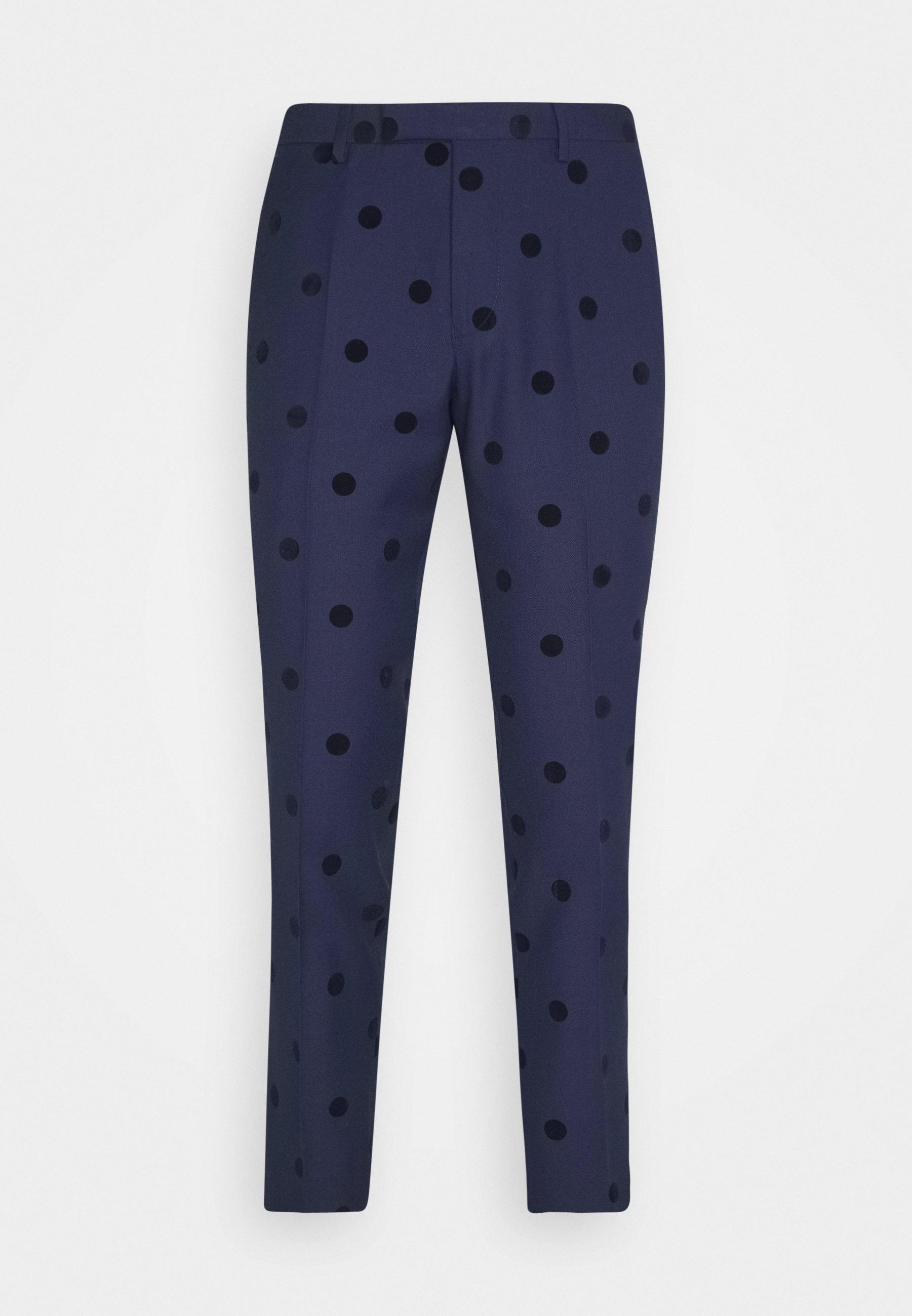 Twisted Tailor BACCHUS TROUSER - Pantalon classique - navy