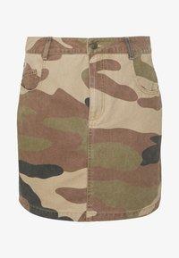 ONLY - ONLFAVOURITE SKIRT  - A-line skirt - kalamata/camo - 3