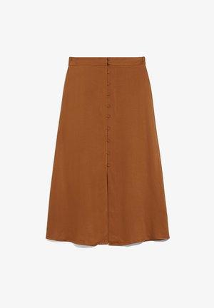 LUVISAA - A-line skirt - ginger