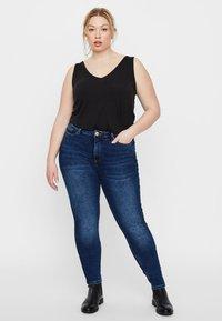 JUNAROSE - by VERO MODA - Slim fit jeans - medium blue denim - 1
