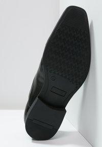 Pier One - Elegantní šněrovací boty - black - 4