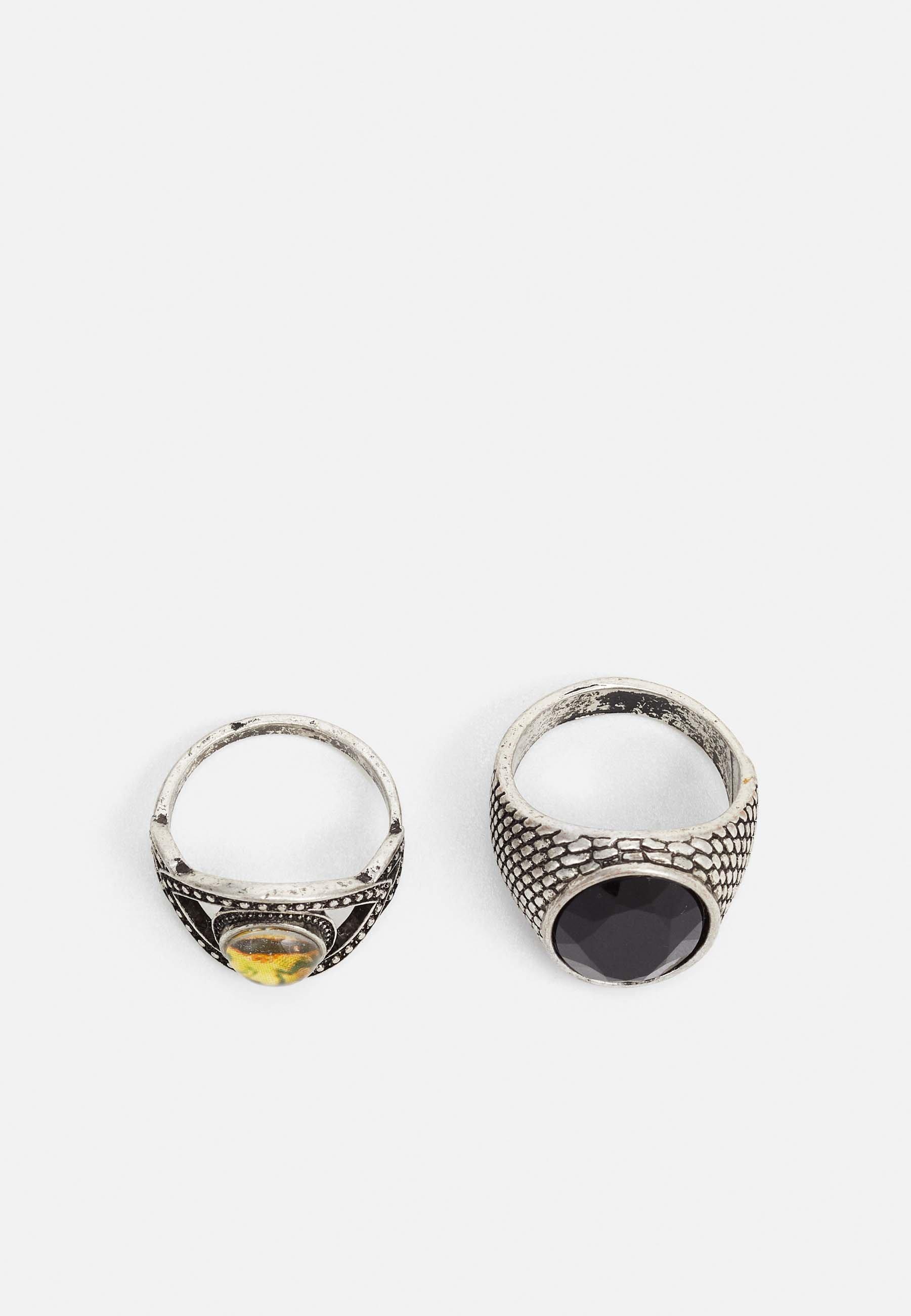 Accessori,Gioielli,Borse & Beauty care Vintage Supply 2 PACK Anello black
