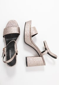 Glamorous - Sandalias de tacón - pink glitter - 3
