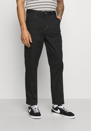 TAPERED CARPENTER - Džíny Relaxed Fit - blacks