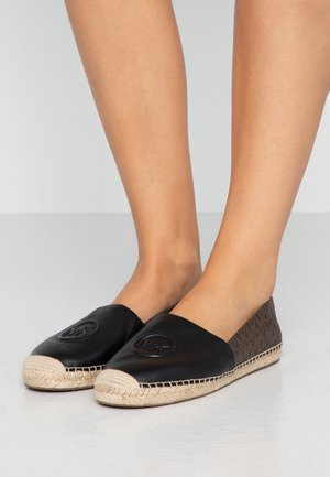 Espadrilles - black/brown