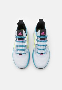 adidas Performance - TERREX TRAILMAKER - Vaelluskengät - halo blue/hi-res yellow/crystal white - 3