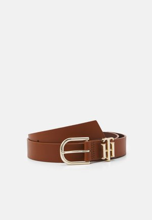 LUX LOGO - Belt - brown