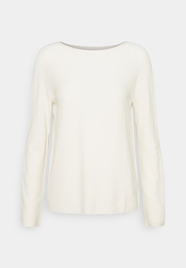 SOLID, STRUCT - Sweatshirt - raw cream