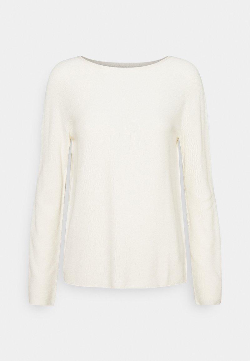 Marc O'Polo - SOLID, STRUCT - Sweatshirt - raw cream