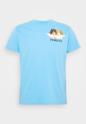 NEW ANGELS TEE  - T-shirt imprimé - light blue