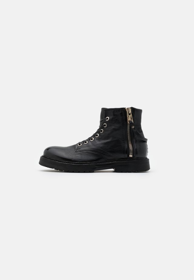 REPUNK - Bottines à lacets - nero