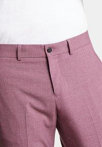 Lindbergh - PLAIN MENS SUIT - Kostuum - dusty pink melange - 9