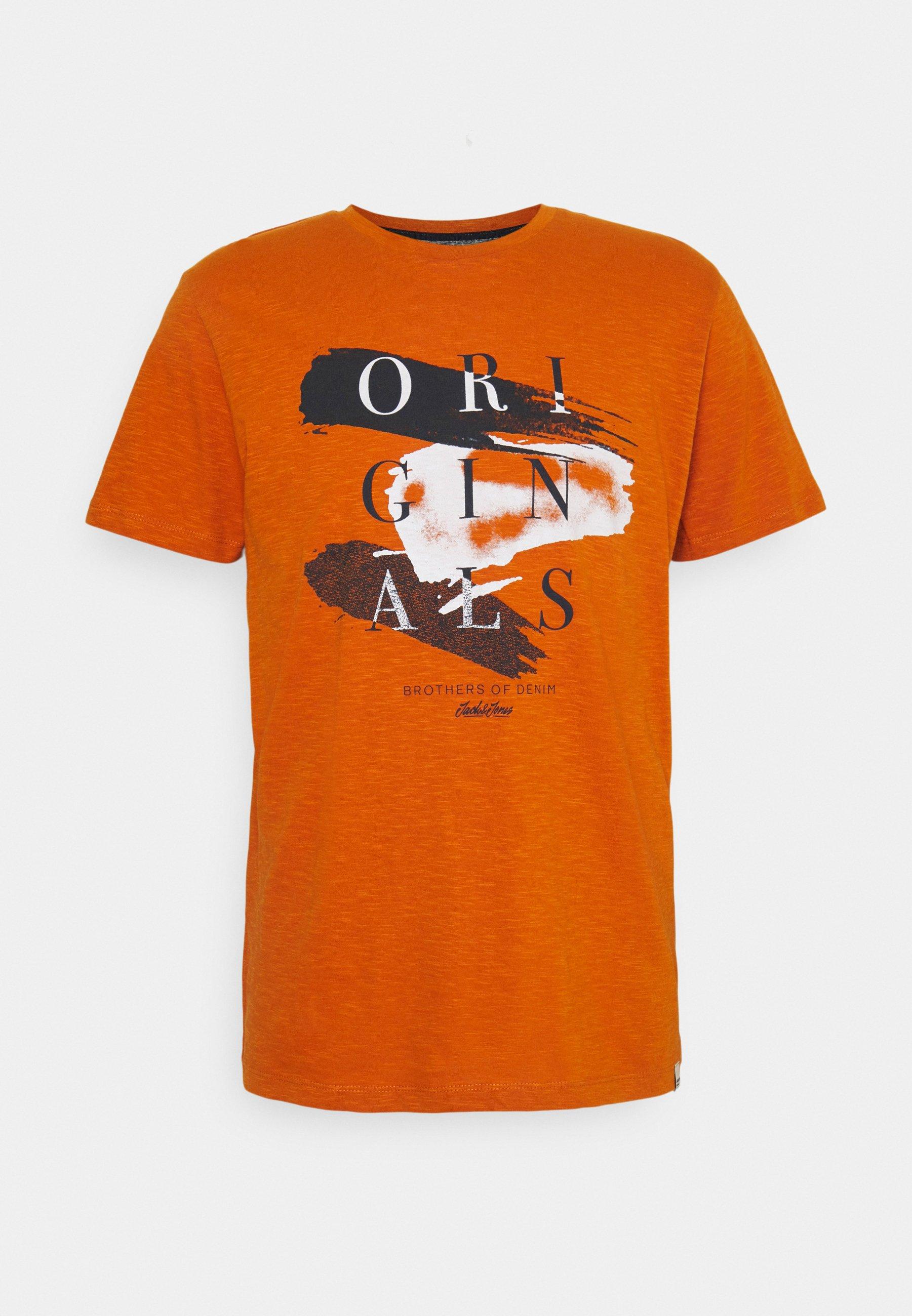 Men JORCALIBRUSH TEE CREW NECK - Print T-shirt