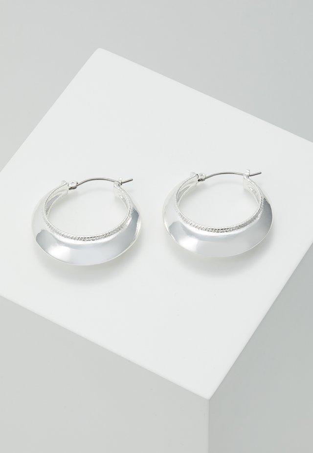 EARRINGS AIR - Orecchini - silver-coloured