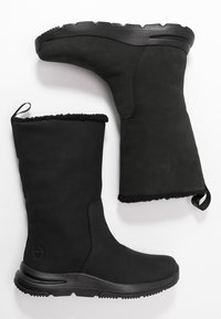 Timberland - MABEL TOWN WP PULL ON - Winter boots - black - 3