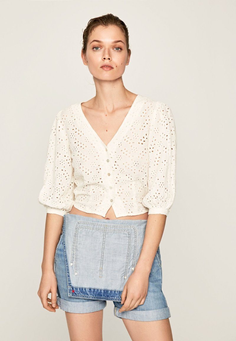 Pepe Jeans - CLAUDIE - Camicetta - off-white
