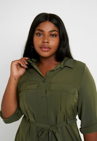 Even&Odd Curvy - Paitamekko - olive night - 4
