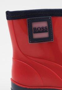 BOSS - WELLIES - Wellies - red - 5